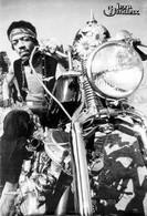 Jimi Hendrix Motorcycle Poster