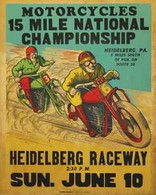 Heidelberg Raceway Poster
