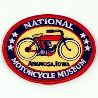 Embroidered National Motorcycle Museum Logo Patch