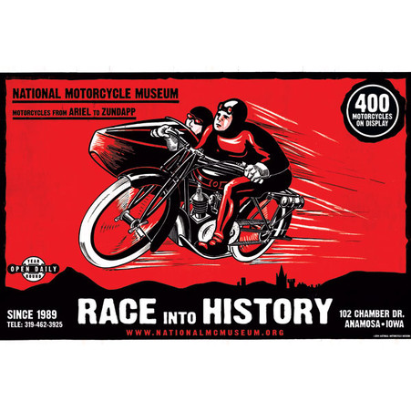 Race Into History Poster