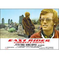 Easy Rider Fonda Desert Scene Movie Poster
