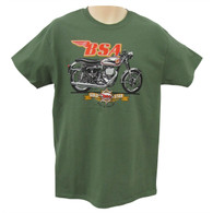 BSA 'Gold Star' Motorcycle T-Shirt front