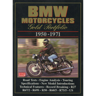 BMW Motorcycles Gold Portfolio 1950-1971 book