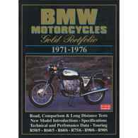 BMW Motorcycles Gold Portfolio 1971-1976 book