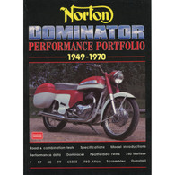 Norton Dominator Performance Portfolio 1949-1970 front cover
