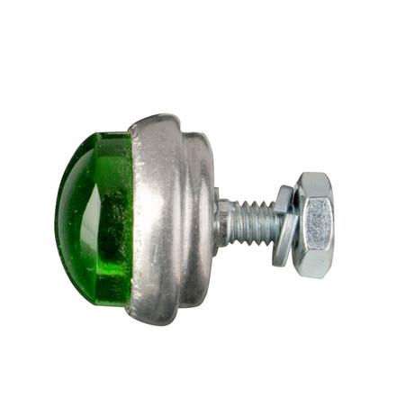 Glo Brite Glass Saddlebag Reflector - Brite Green