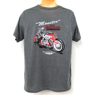 National Motorcycle Museum Plymouth Monster T-Shirt back