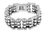 Men's Stainless Steel Bike Chain Bracelet