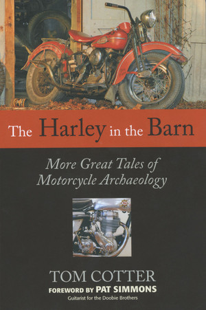 The Harley in the Barn Front Cover