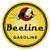 Beeline Gasoline Round Metal Sign