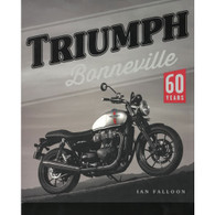 Triumph Bonneville 60 Years book front cover