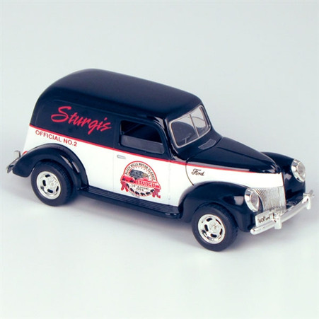 "1940 Ford ""1994 Sturgis 54th Anniversary"" Delivery Truck Die-Cast Model Coin Bank right side"
