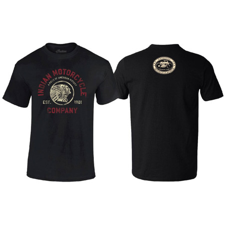 Official Licensed Indian Motorcycle®, Indian Coin T-Shirt