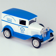 "1931 Ford ""Victor McLaglen Motor Corps"" Model A Delivery Truck Die-Cast Model Coin Bank right side"