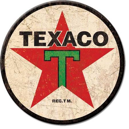 Texaco Star Motor Oil Magnet