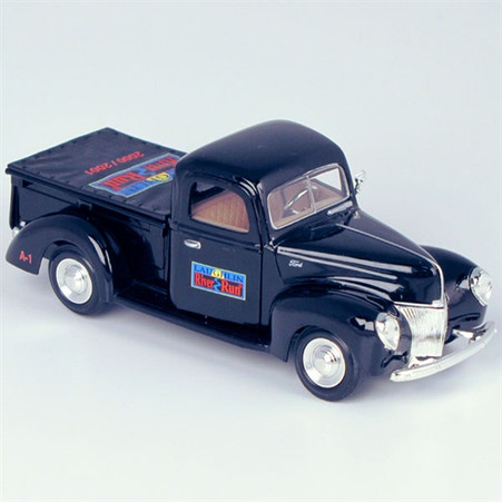 "1940 Ford ""2000/2001 Laughlin River Run"" Pickup Truck Die-Cast Model Coin Bank right side"
