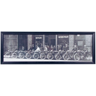 Dayton Motorcycle Panoramic Print