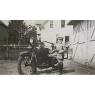 Kid Cop Harley-Davidson Poster