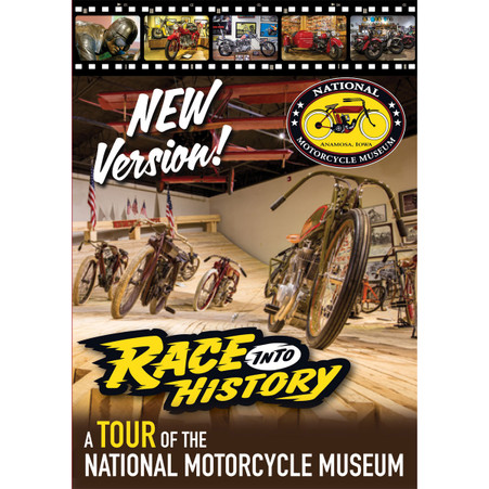 Race into History - Museum Tour DVD front cover