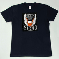 'Mommy's Lil' Biker' T-Shirt front