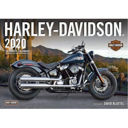 2020 Harley-Davidson 16 Month Calendar