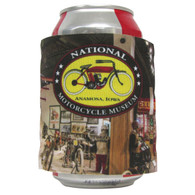 National Motorcycle Museum Slap Wrap Koozie