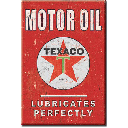 TEXACO Motor Oil Magnet
