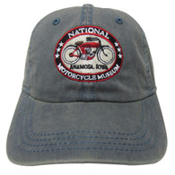 National Motorcycle Museum Logo Denim Cap
