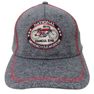 National Motorcycle Museum Logo Heather Gray Cap