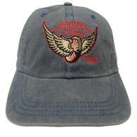 National Motorcycle Museum Winged Wheel Denim Cap