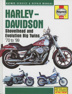 Haynes 2536 Service & Repair Manual - Shovelhead & Evo Big Twins '70-'99 front cover