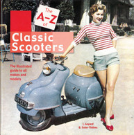 The A-Z of Classic Scooters Book front cover