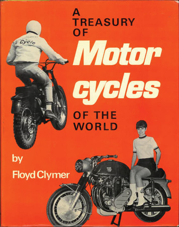 A Treasury of Motorcycles of the World Book front cover