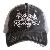 Weekends are for Racing Trucker Caps