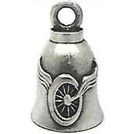 Winged Wheel Guardian Bell