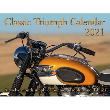 2021 Classic Triumph 12 month Calendar