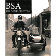 BSA the Complete Story front cover