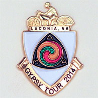 2014 Laconia Gypsy Tour Pin