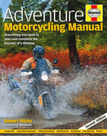 Adventure Motorcycling Manual front cover