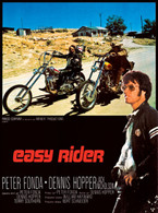 1969 'Easy Rider' Foreign Movie Poster