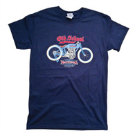 National Motorcycle Museum Yale Twin 'Old School' T-Shirt