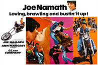 Joe Namath/Ann Margaret 1970 'C.C. & Company' Horizontal Movie Poster