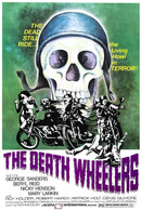 1970 'The Death Wheelers' Movie Poster
