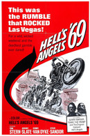 1969 'Hell's Angels 69' Movie Poster