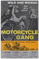 1957 'Motorcycle Gang' Movie Poster