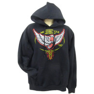 National Motorcycle Museum 'Winged Wheel' Long Sleeve Hoodie front