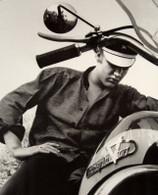 Elvis Presley Harley-Davidson Poster