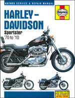Haynes Manual for H-D Sportster 1970-2010 front cover