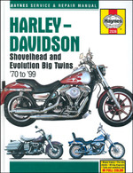 Haynes Manual for H-D Shovelhead and Evo 1970-1999