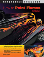 How to Paint Flames front cover